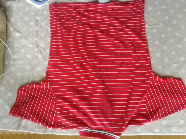 シャツ たたみ方 半袖
